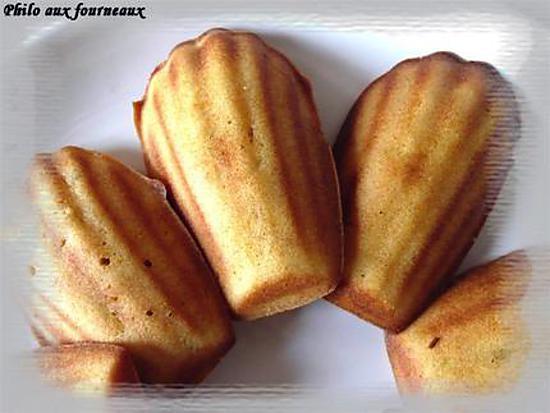 recette Madeleine à la-Gourmandise abricots & au chocolat blanc aux brisures de nougat