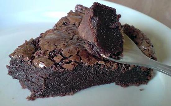 recette Gateau fondant au chocolat