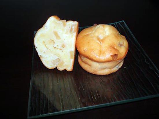 recette Muffins pomme mascarpone