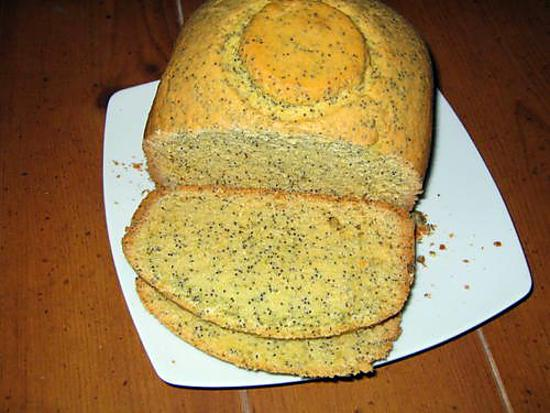 recette Cake pavot citron MAP