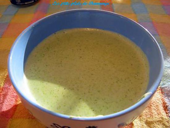 recette Crème de poireaux aux poires