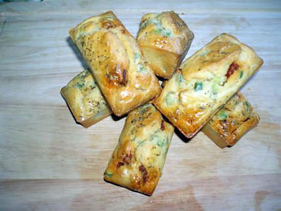 Recette Mini Cake Chorizo Poivron