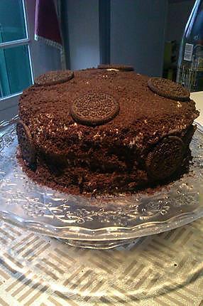 recette gâteau aux Oréo