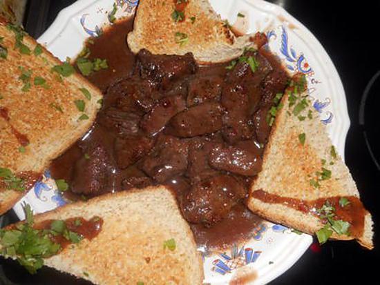 recette Sauté de chevreuil sauce grand veneur