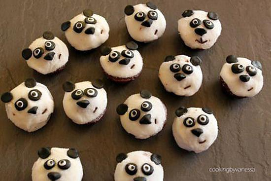 Gateau panda facile