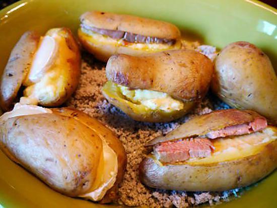 Recettes de pommes de terre - Recette saumon au four avec pomme de terre ...