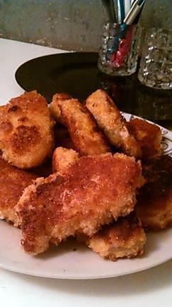 recette Blancs de poulet panée a la chapelure japonaise
