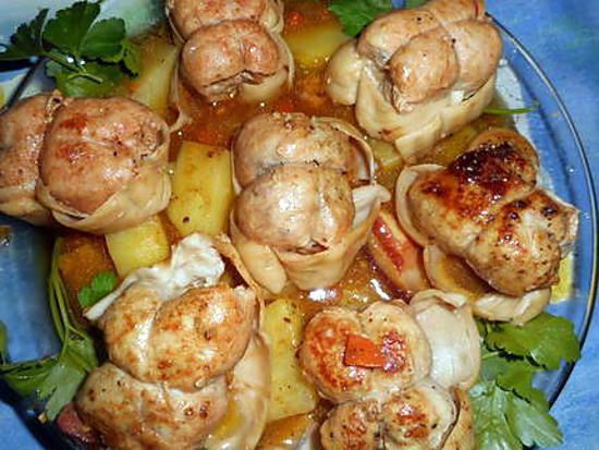 Paupiette de veau cookeo free paupiettes de veau la crme - Comment cuisiner les paupiettes de veau ...