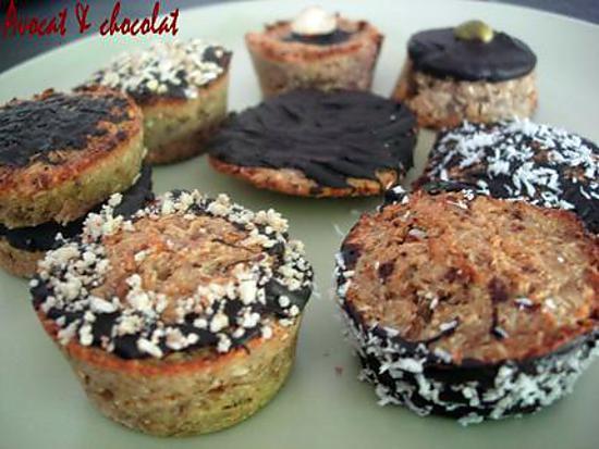 recette FARANDOLE de bouchées coco-chataîgne-chocolat