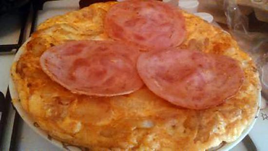 recette Tortilla de patate au jambon alsacien