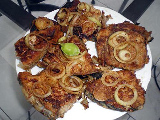 recette thons frits à l'antillaise