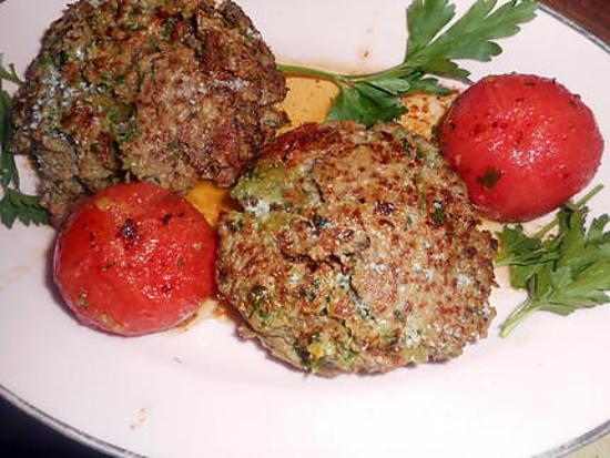recette Steak haché oignon,paprika