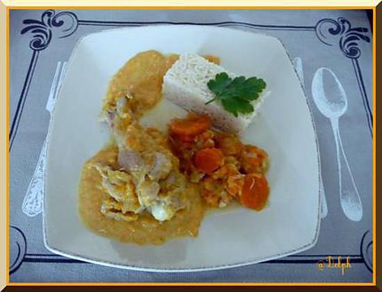 recette Blanquette de dinde, poireaux et carottes