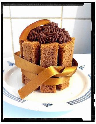 recette charlotte de pain d'épice au chocolat
