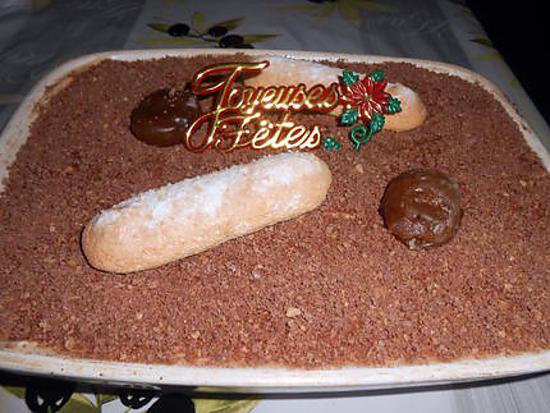 Tiramisu poires crème de marrons 430