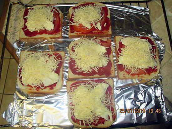 Recette de pain de mie au fromage - Recette sandwich pain de mie ...