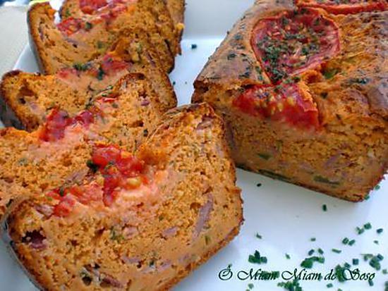 Recette Facile Cake Jambon Tomate Gruyere