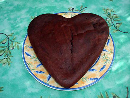 recette Coeur au chocolat & amarettis