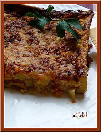 recette Tarte crevettes noix de St Jacques