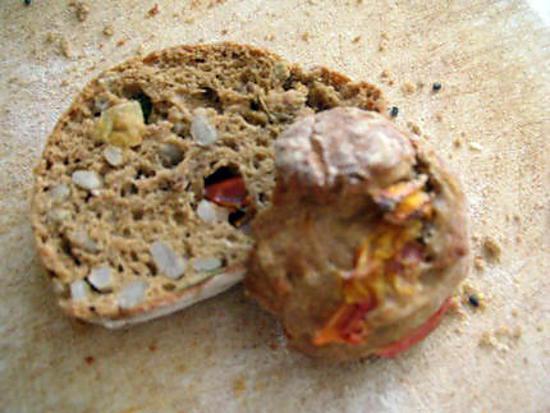 recette Biscotti salés aux graines de tournesol & aux poivrons
