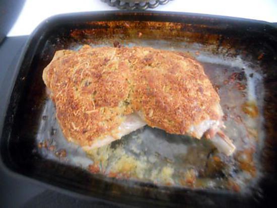 recette Cuisse de dinde en croûte de fromage