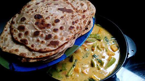 recette Curry crevettes coco