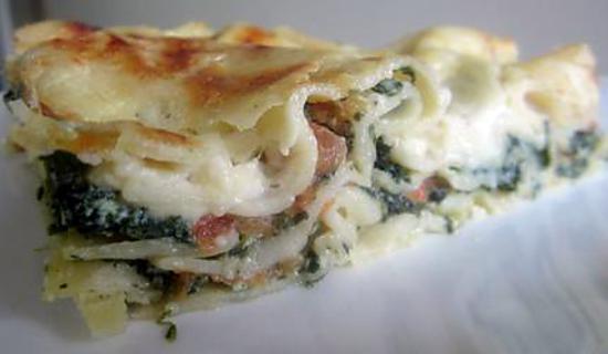 recette Lasagne Épinard Ricotta Tomate