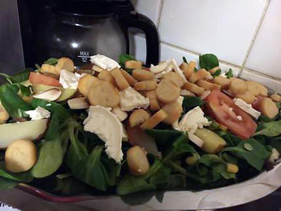 Recette de salade familiale - Recette de cuisine familiale ...