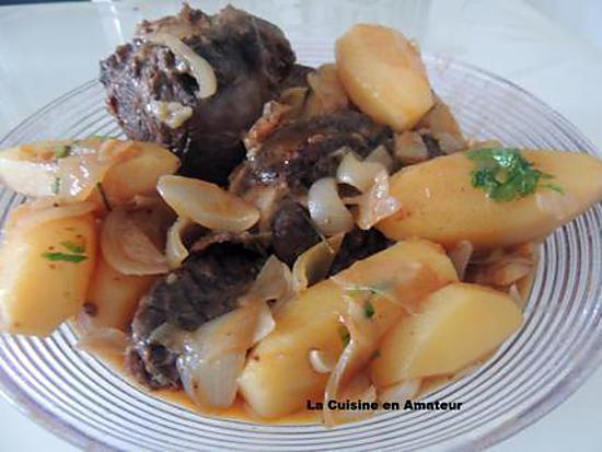 Recette de jarret de boeuf comme jeanmerode - Comment cuisiner du jarret de boeuf ...