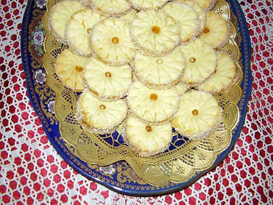 Recette de rosasses sabl es la confiture - Recette sable confiture maizena ...