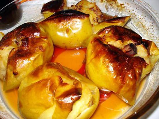 recette Pommes au four à la cannelle et au vin du Porto
