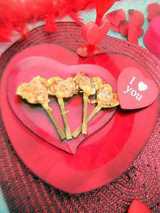 recette Pizza coeur saint valentin