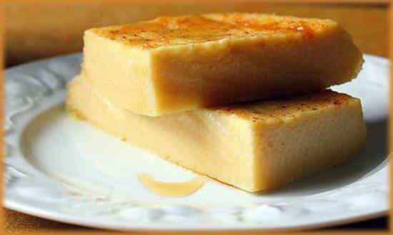 recette Flan fondant ou Cuajada de brebis.