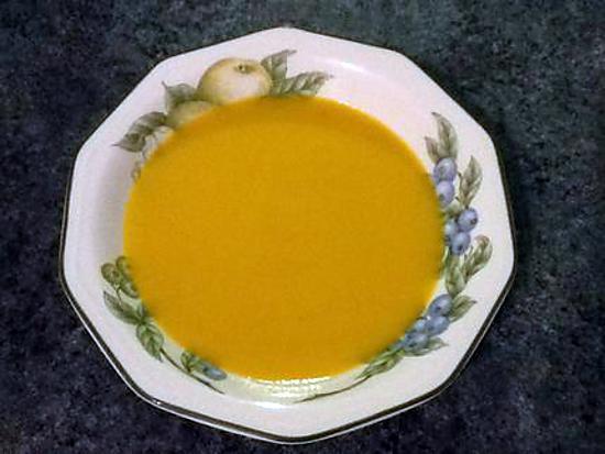 recette Velouté carottes panais poireaux (thermomix)
