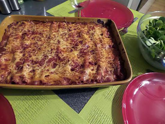 recette Cannellonis