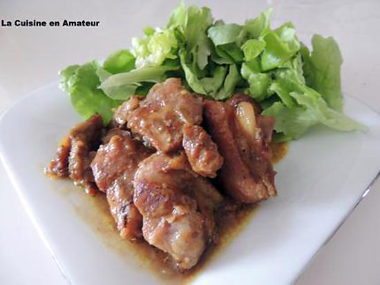 recette de porc au curry par marylineh. Black Bedroom Furniture Sets. Home Design Ideas