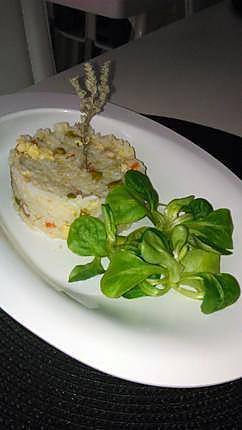 recette Riz cantonais au lardons et a la dinde