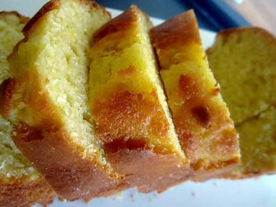 recette Cake aux Zestes d'Orange ( Ultra moelleux.. )