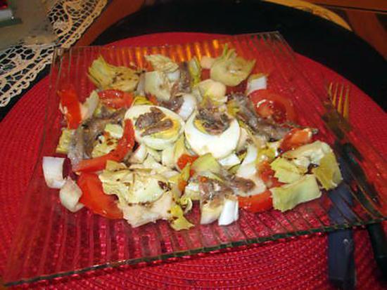 recette oeuf dur aux anchois de rosinette