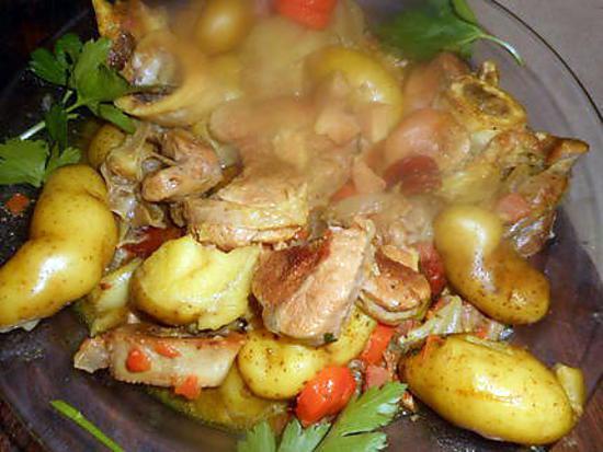 recette Rouelles de veau aux rates et échalotes