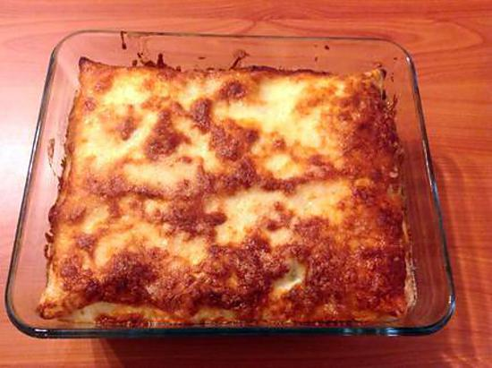 recette Lasagne au saumon et épinards