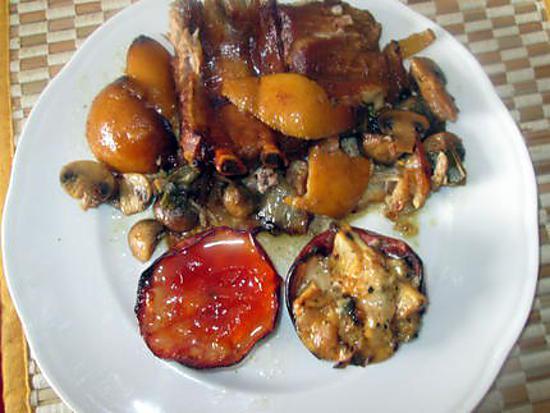 recette roti  de porc au citron    et sauge