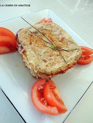recette Terrine de thon et tomates