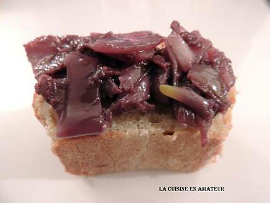 recette Oignons en Saupiquet du Sauget