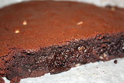 Recette De Brownies Au Chocolat Noir Et Aux Noix De Macadamia