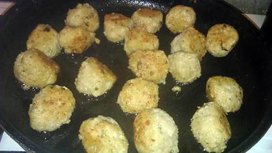 recette Boulette de poisson au colin-moule