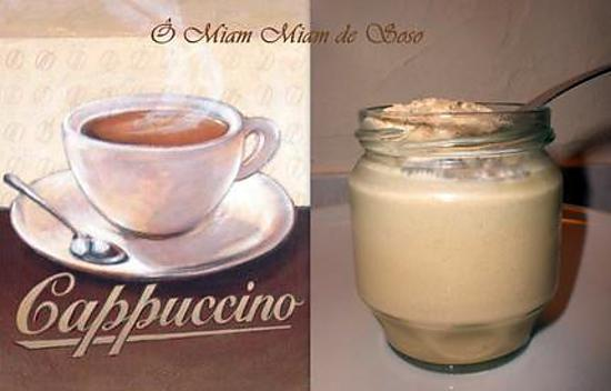 recette YAOURT & CAPPUCCINO