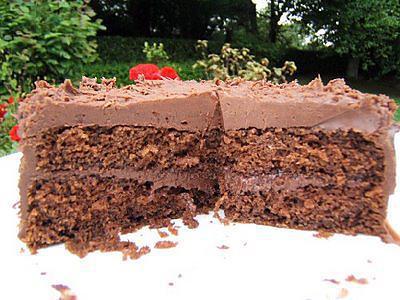 recette Chocolate fudge cake