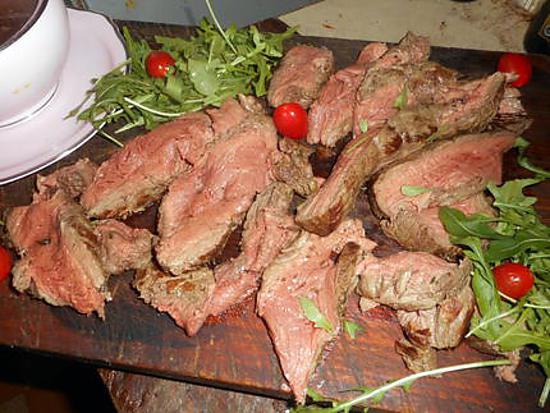 recette Filet de boeuf roti sauce au porto