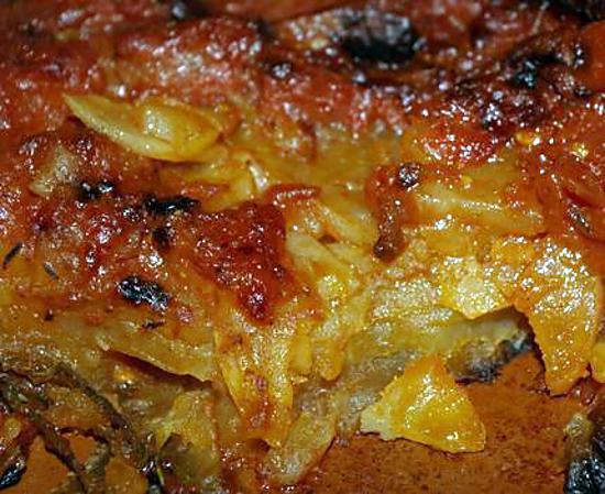 Recette de gratin de pommes de terre la hongroise - Recette de pomme de terre en gratin ...